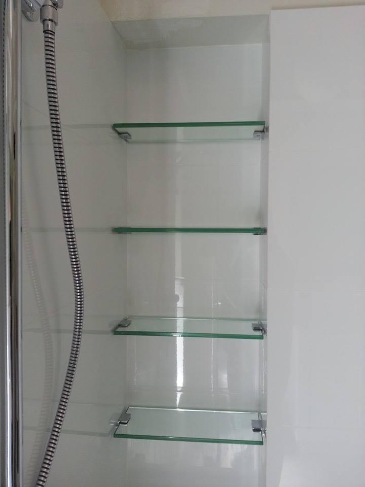 Custom Glass Shelves Perth